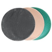 "Goods of the Woods 36"" Round Protective Grill Mat - Black ..."