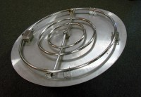 Hearth Products Controls 24 Inch Stainless Steel Round