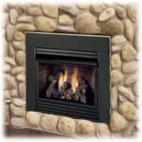 FIREPLACE BLOWER: DIRECT VENT GAS FIREPLACE INSERT WITH BLOWER