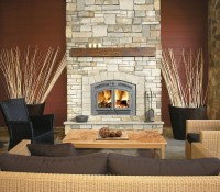 Napoleon High Country NZ3000H Wood Burning Fireplace