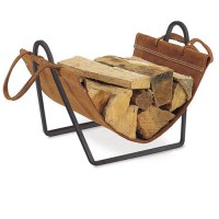 Pilgrim Traditions Log Carrier and Holder
