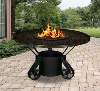 California Outdoor Concepts 1020 Solano Dining Height Fire Pit
