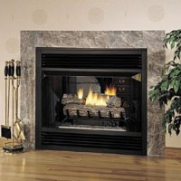 "Superior 36"" Vent Free See Thru Firebox - Smooth Faced ..."