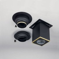 SuperVent All-Fuel Decorative Chimney Pipe Ceiling Support ...