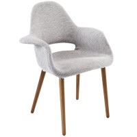 Aegis Mid-century Modern Upholstered Dining Armchair W ...