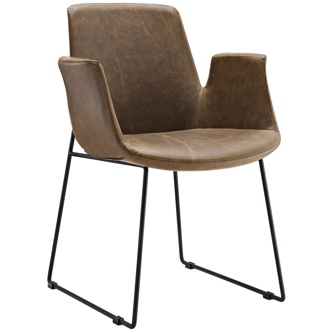 modern leather dining chairs with arms chair covers for sale edmonton armchair wing shop factory direct