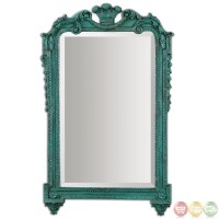 Andreina Traditional Lightly Distressed Heavily Antiqued ...