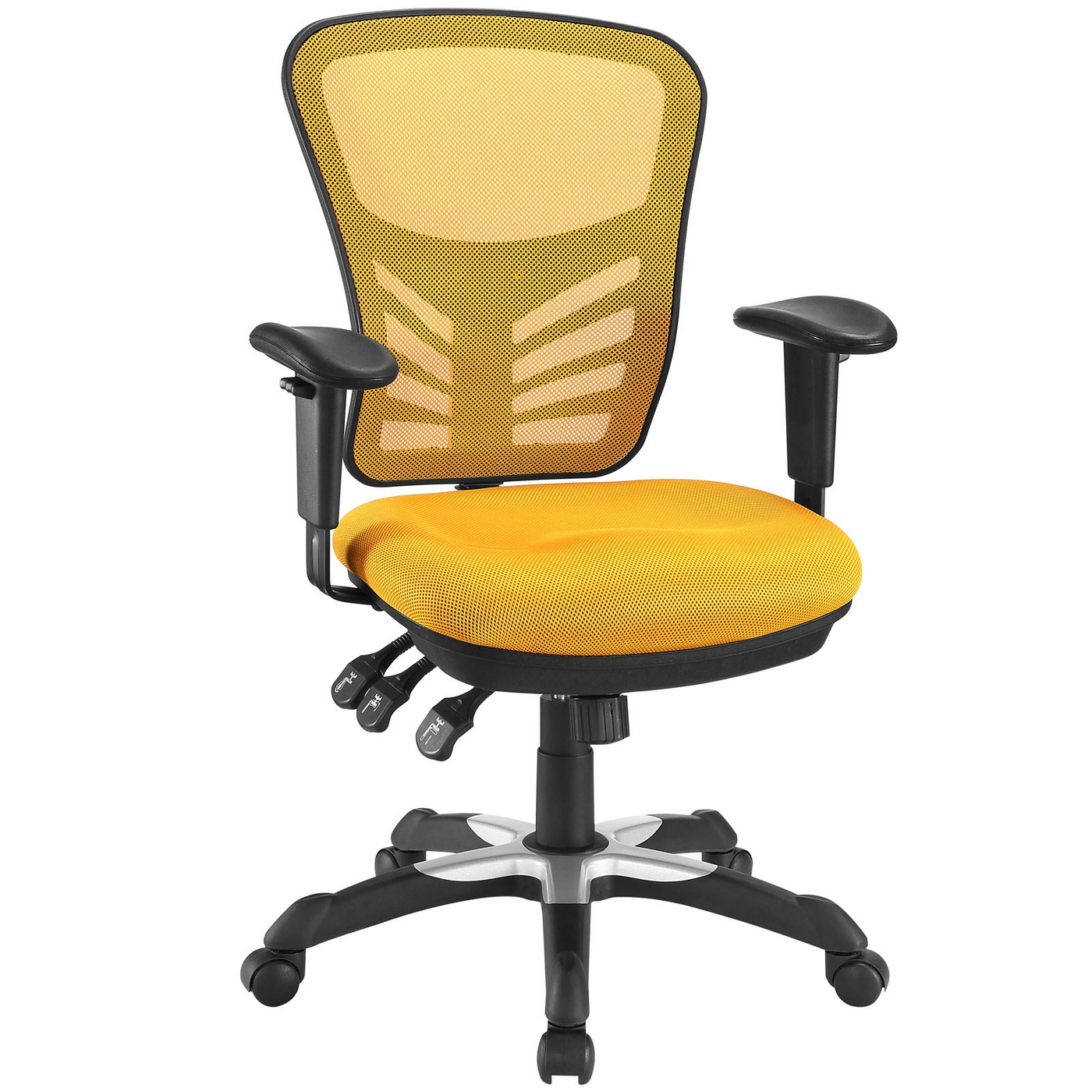 office chair orange how much is a bean bag at walmart articulate modern adjustable ergonomic mesh