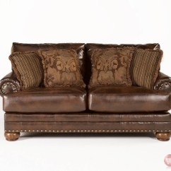 Decorative Pillows Brown Leather Sofa Pris Pa Hay Mags Ashley Antique Loveseat W Rolled Arms