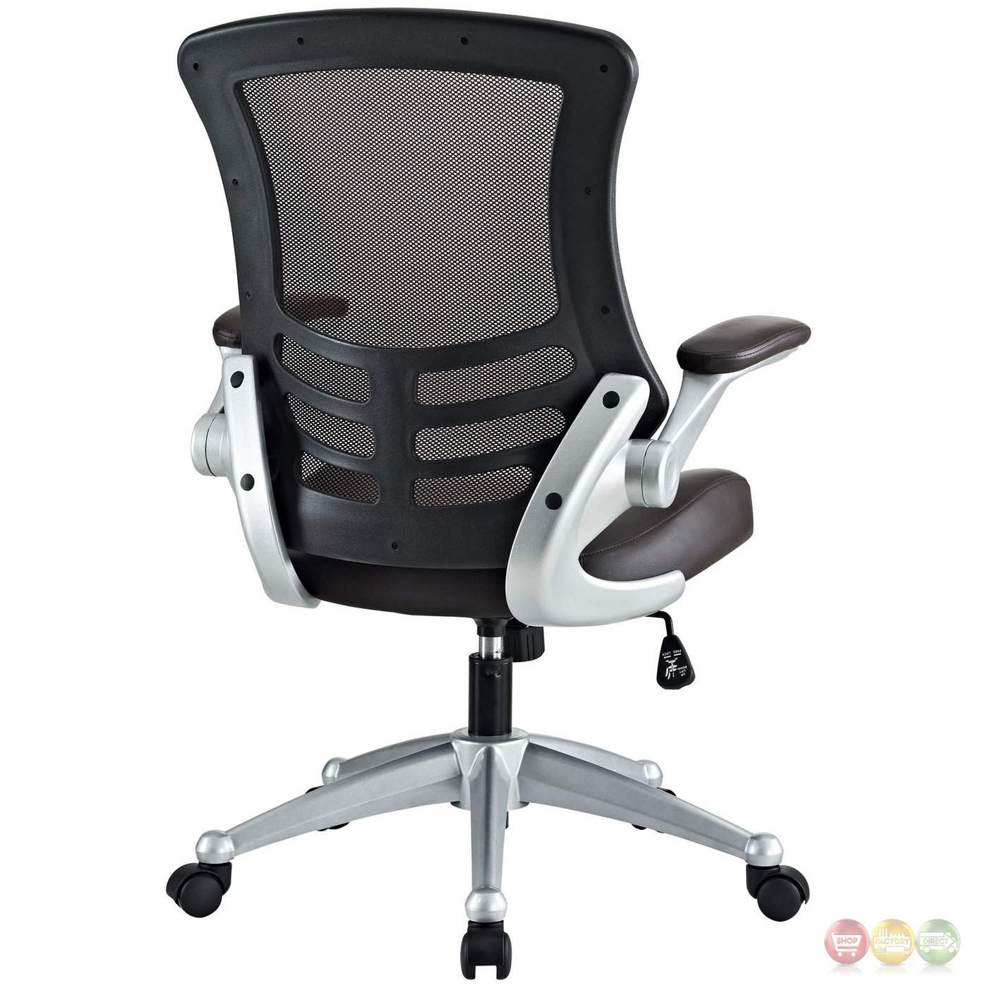 Back Support Office Chair Attainment Modern Ergonomic Mesh Back Office Chair W