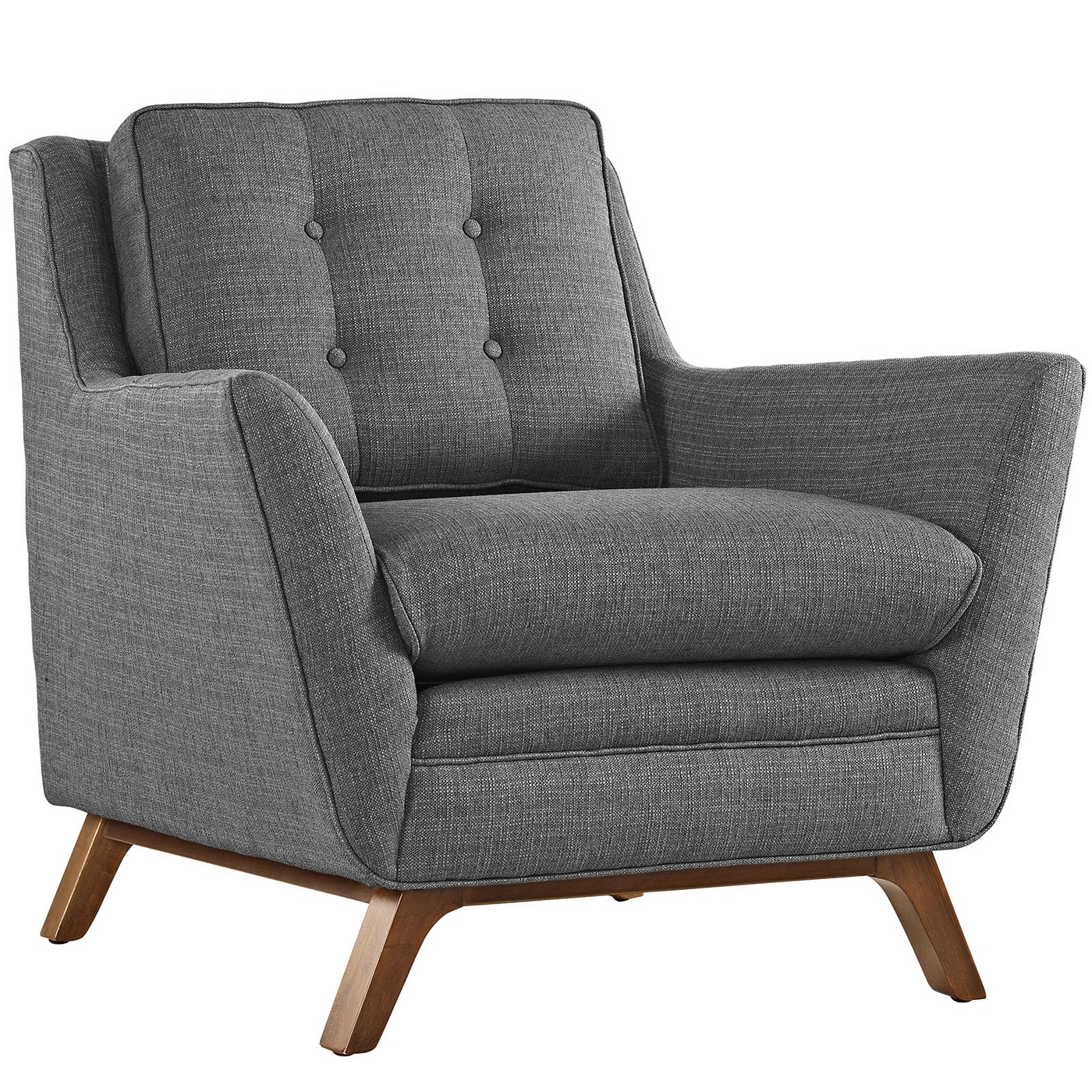grey modern armchairs chair design model beguile contemporary button tufted upholstered armchair gray