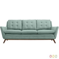 Beguile Contemporary Button-tufted Upholstered Sofa, Laguna