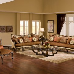 Antique Living Room Chair Styles Jungle Animal Chairs Abrianna Exposed Wood Warm Cherry Finish Style Sofa
