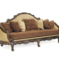 S Sofa Set Patio Brianza Hand Carved Wood Antique Style Formal Living Room
