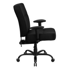 Big And Tall Desk Chairs The Revolving Chair Design Black Fabric Office With Arms Extra