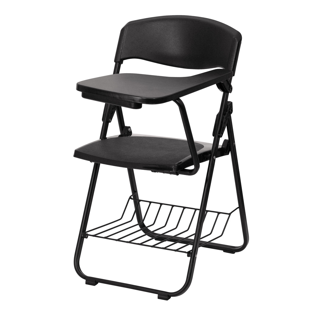 black plastic chairs drive wheel chair with left handed tablet arm and book