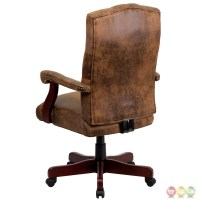Bomber Brown Classic Executive Office Chair 802-BRN-GG