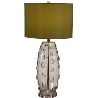 Bubbles Apple Green Table Lamp L2659TEC