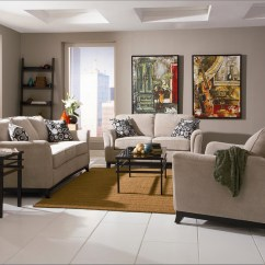 Beige Colour Sofa Set Cleaning Services Nj Carver Chenille Fabric Living Room And Loveseat
