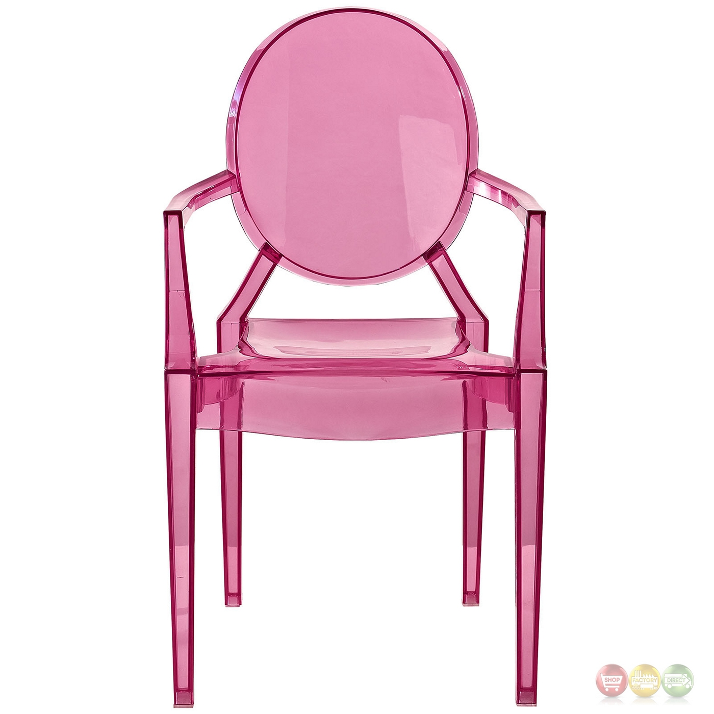 pink kids chair covers vaughan casper modern transparent plastic