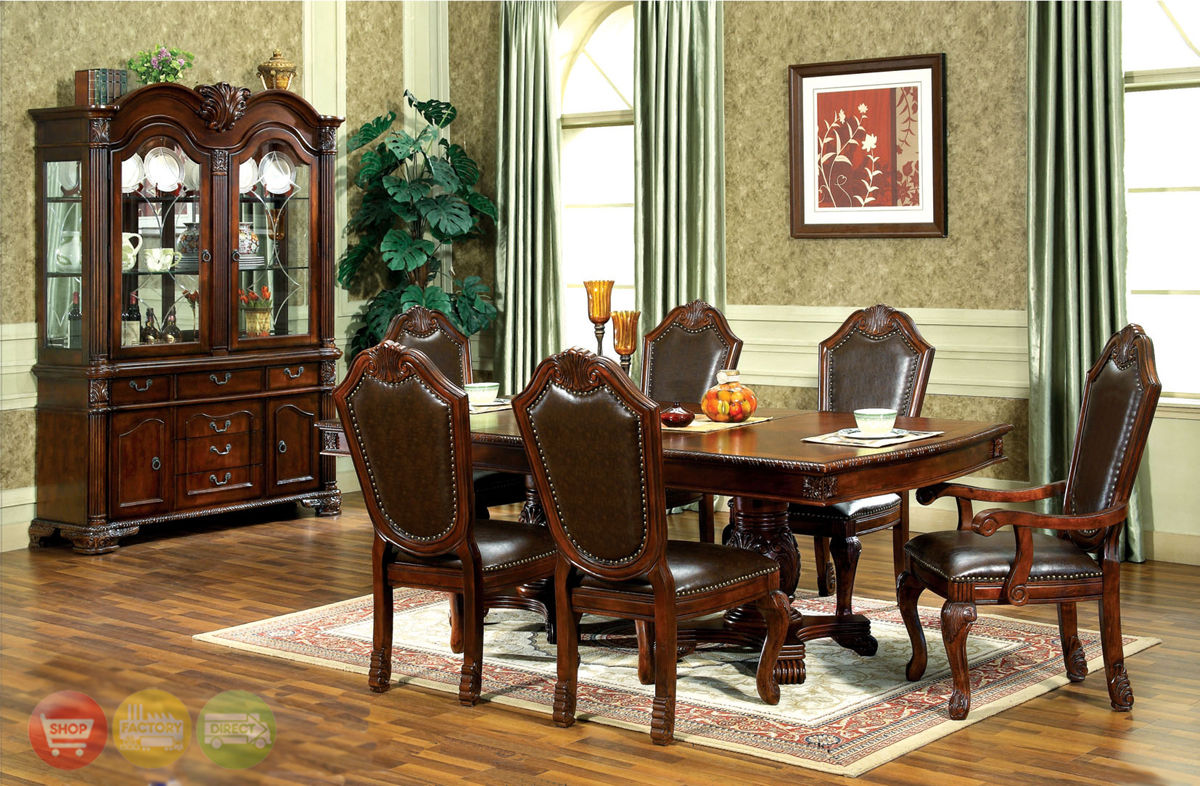 Traditional Dining Room Chairs Chateau Traditional Formal Dining Room Furniture Set