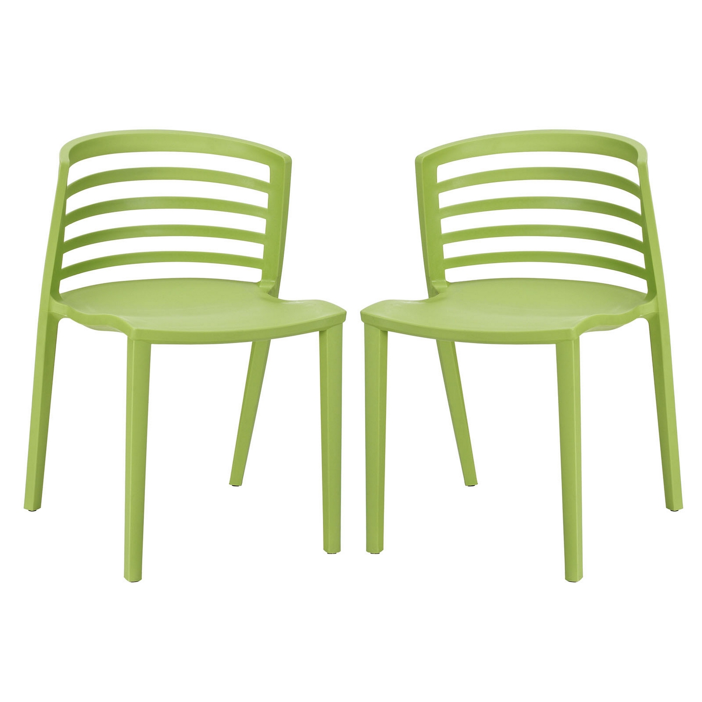 stackable resin chairs green wedding chair covers belfast curvy contemporary molded plastic dining