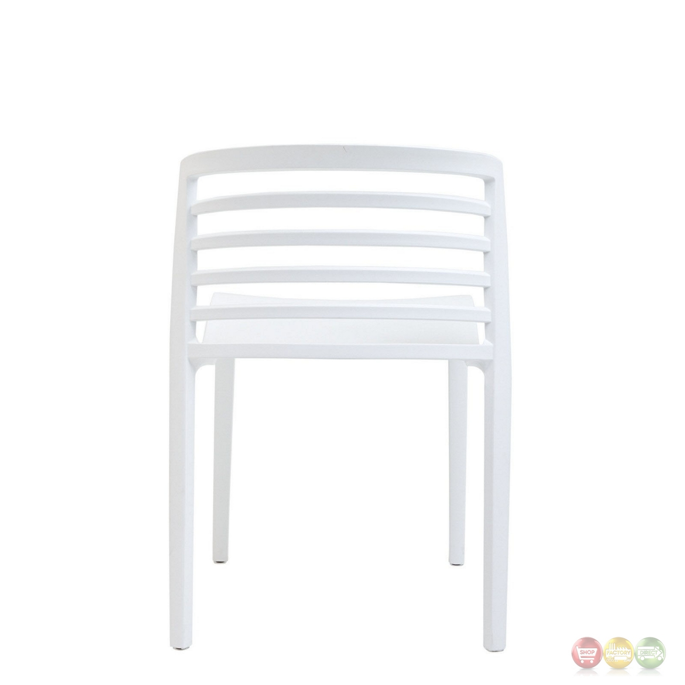 white multi purpose salon chair high 3 months curvy modern molded plastic side