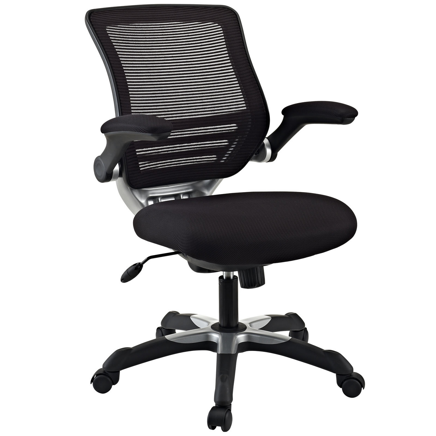 Mesh Ergonomic Office Chair Edge Modern Adjustable Ergonomic Mesh Office Chair Black