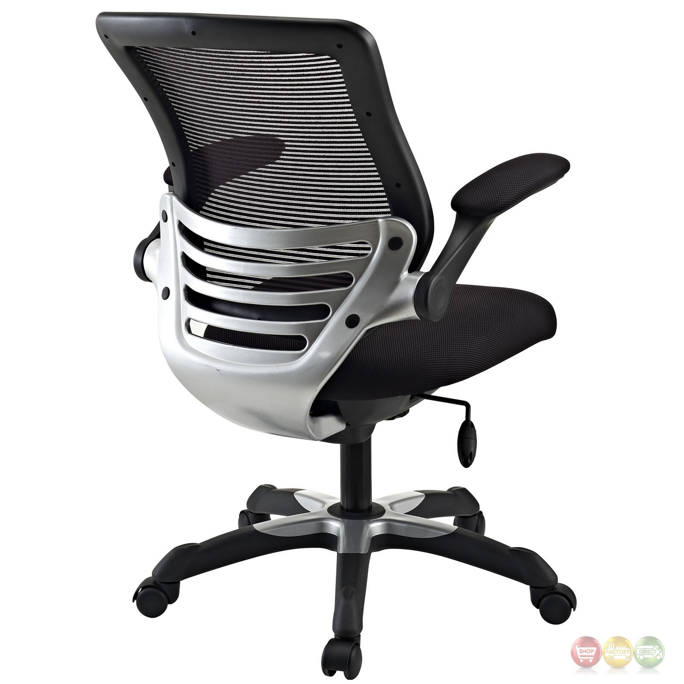 Edge Modern Adjustable Ergonomic Mesh Office Chair, Black