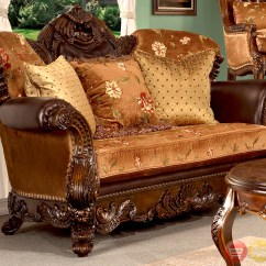 Antique Living Room Chair Styles Ergonomic With Back Support Elegant European Style Furniture