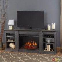 Eliot Grand Entertainment Center Electric Fireplace In
