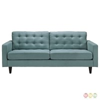Empress Contemporary Button-tufted Upholstered Sofa, Laguna