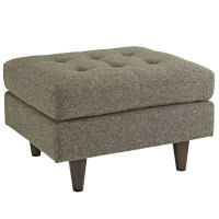 Empress Upholstered Ottoman With Button-tufted Accents ...