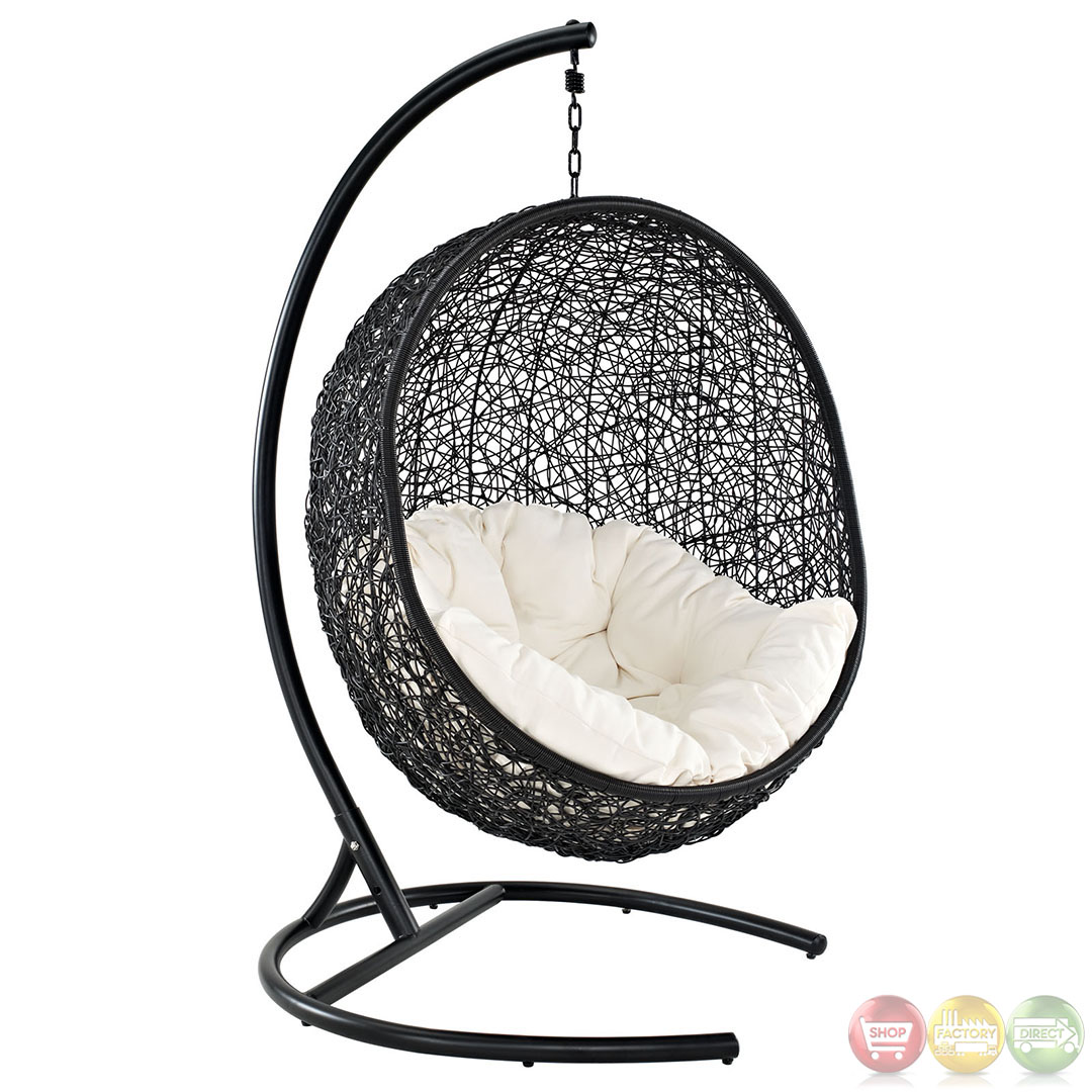 Patio Swing Chair Encase Contemporary Modern Patio Swing Chair Suspension