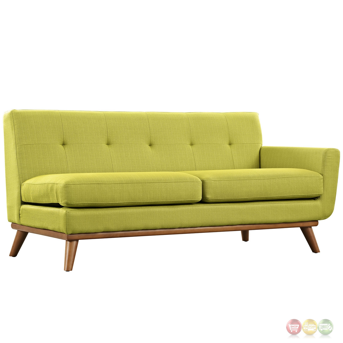 l shaped modern sofa wooden side table engage contemporary sectional with button