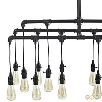 Firefly Industrial Hanging Light Bulb Ceiling Fixture With ...
