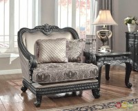 Florence Traditional Formal Living Room Furniture Arm ...