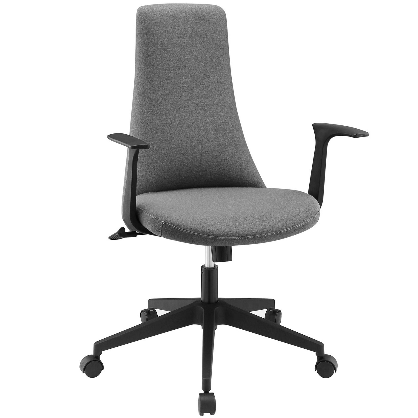 Fount Modern Mid Back Upholstered Office Chair With Nylon