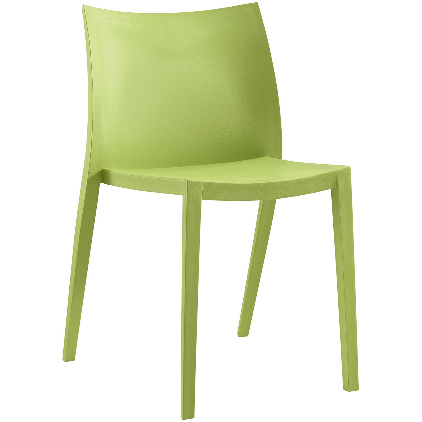 modern green dining chairs chair covers stretch gallant contemporary plastic side