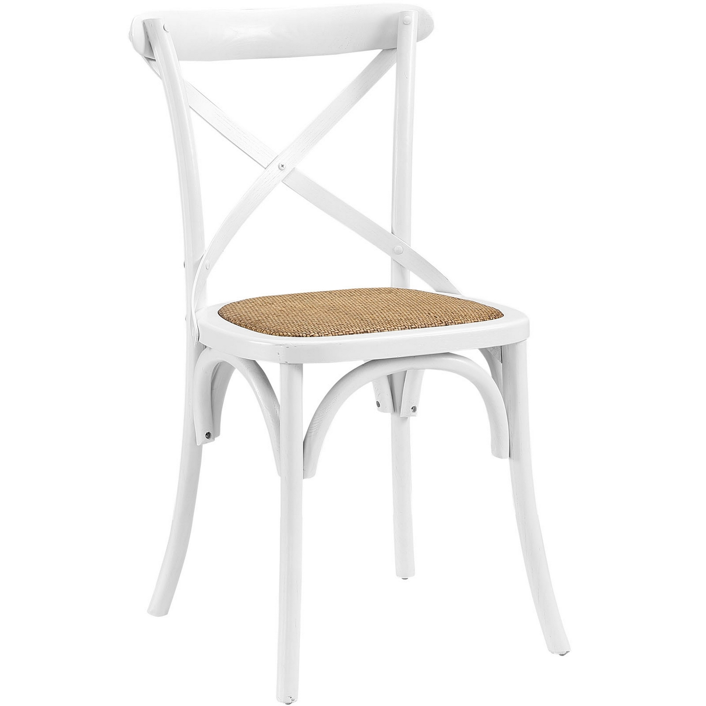 white x back chair black banquet covers for sale gear modern country wooden quotx quot side w rattan