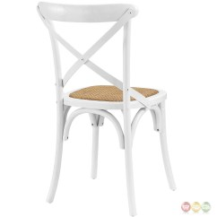 White X Back Chair Covers Hire Manchester Gear Modern Country Wooden Quotx Quot Side W Rattan