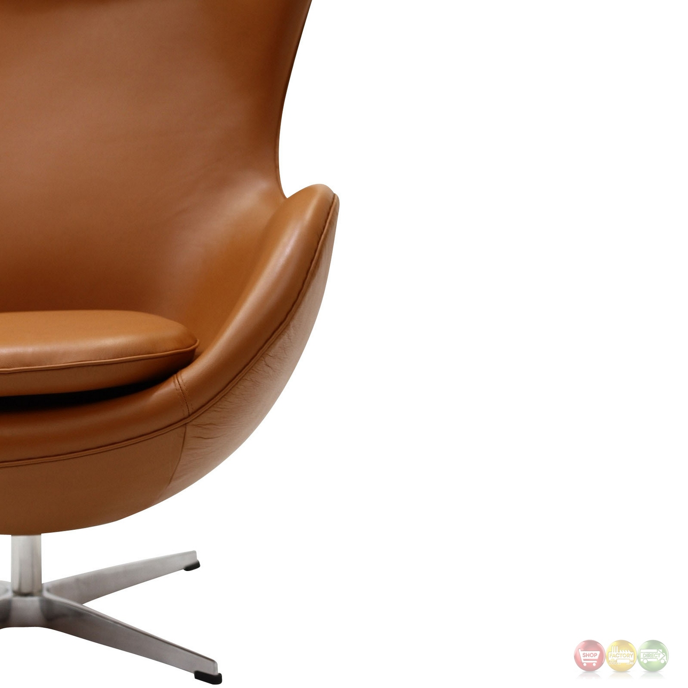 modern leather lounge chair with long seat glove mid century italian