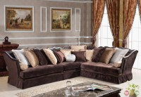 Godiva Formal Antique Style Traditional Living Room ...