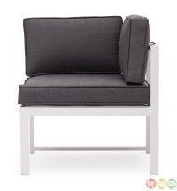 Golden Beach Gray Corner Chair Zuo Modern 703001|Modern ...