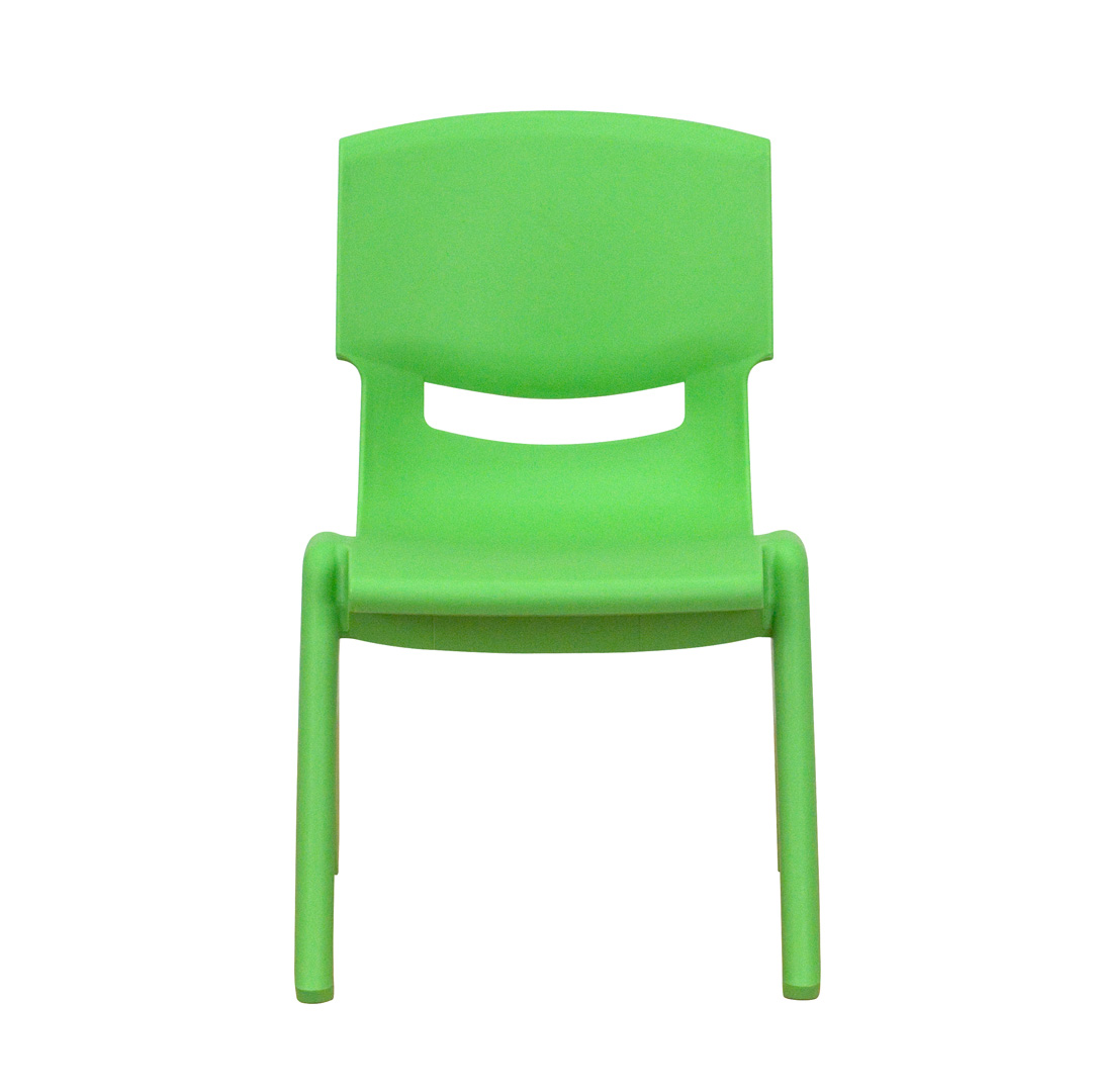 stackable resin chairs green dxracer chair thailand plastic school with 10 5 inch seat