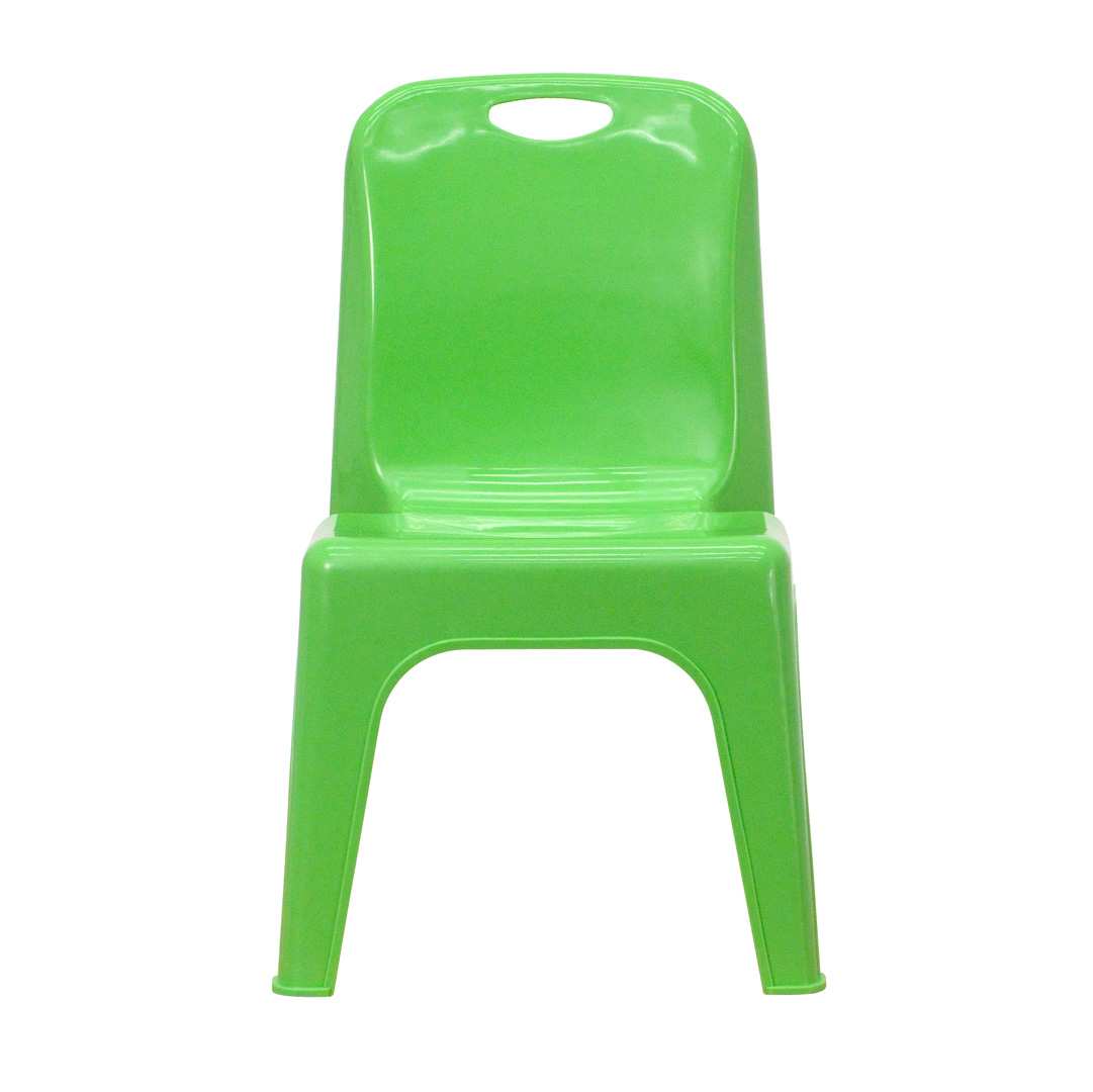 stackable resin chairs green best gaming computer plastic school chair with carrying handle