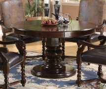 Harrelson 5 Piece Transitional Table Dining Set
