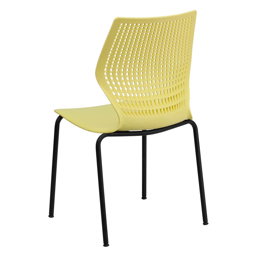 Hercules Stacking Chairs Hercules Series 770 Lb Capacity Designer Yellow Stacking