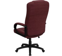 High Back Burgundy Fabric Executive Office Chair BT-9022-BY-GG