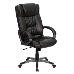 Executive Brown Leather Office Chairs Dining At Argos High Back Espresso Chair